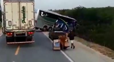 wypadek w brazylii