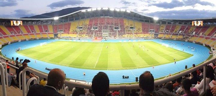 stadion macedonia polska