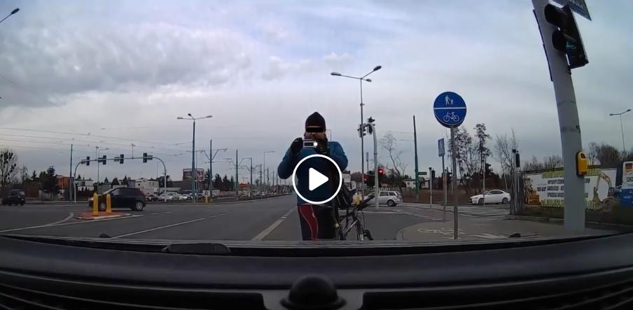 kierowca vs rowerzysta