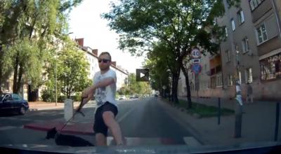 Wrocław: kierowca