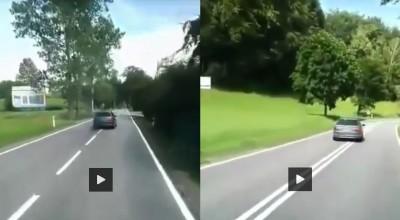 jazda lewym pasem