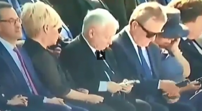 jarosław kaczyński vs słuchawki