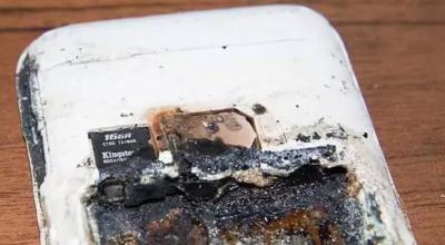 telefon eksplodował
