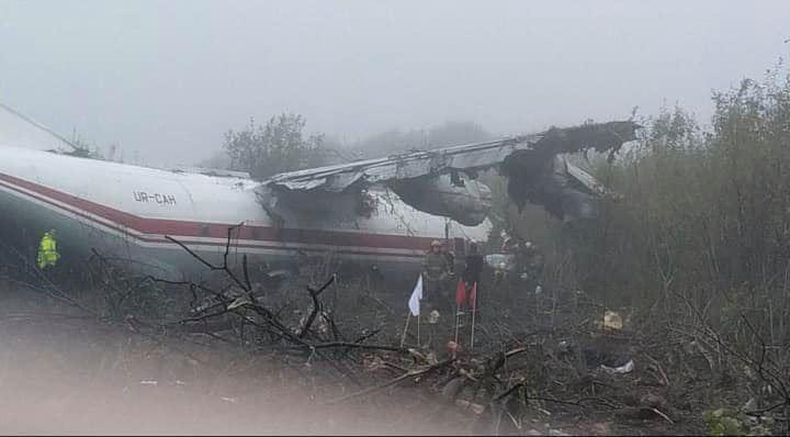 wypadek samolotu