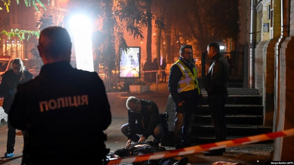dwie ofiary w kijowie