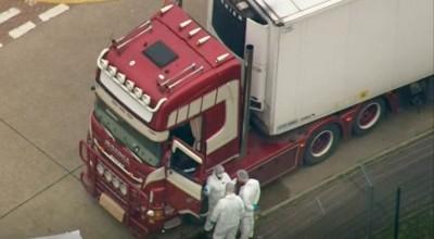 39 ciał w ciężarówce