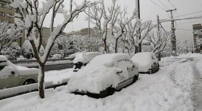 śnieżyca sparaliżowała iran