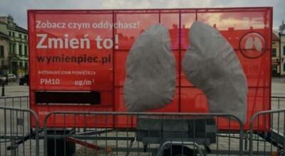 Postawiono model płuc