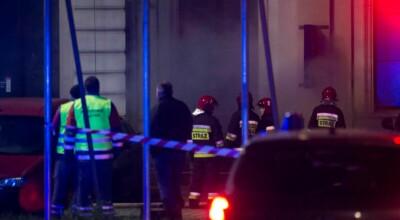 Pożar Dworca Świebodzkiego we Wrocławiu