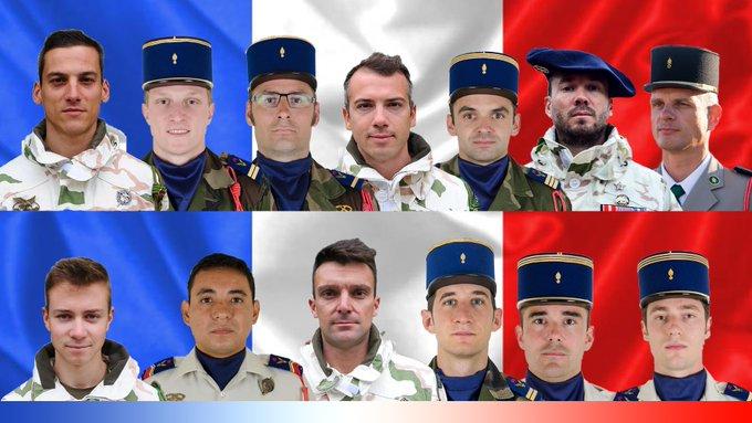 13 francuskich żołnierzy zginęło