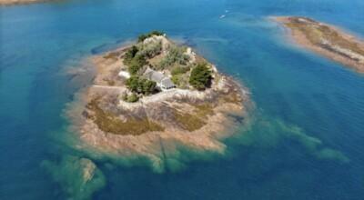 Francuska wyspa Roch Ar Hon