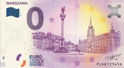banknot zero euro