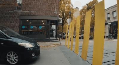 Efektowne przejście dla pieszych
