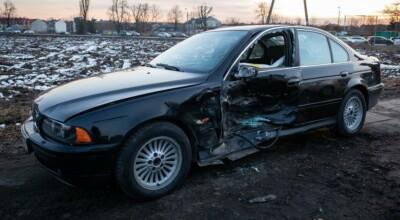 Wypadek limuzyny