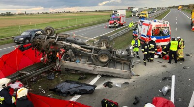 Wypadek na A2