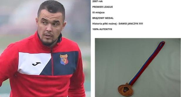 dawid janczyk oddał medal