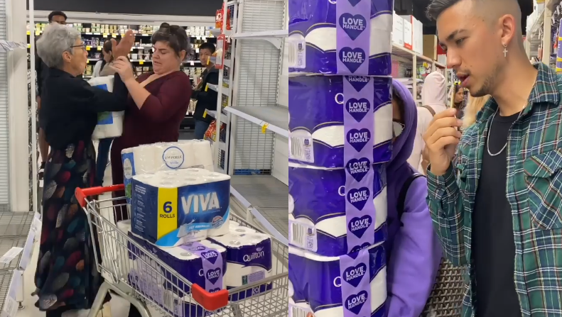 walka o papier toaletowy