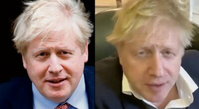 boris johnson w szpitalu