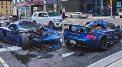 rozbił auto warte 750 000