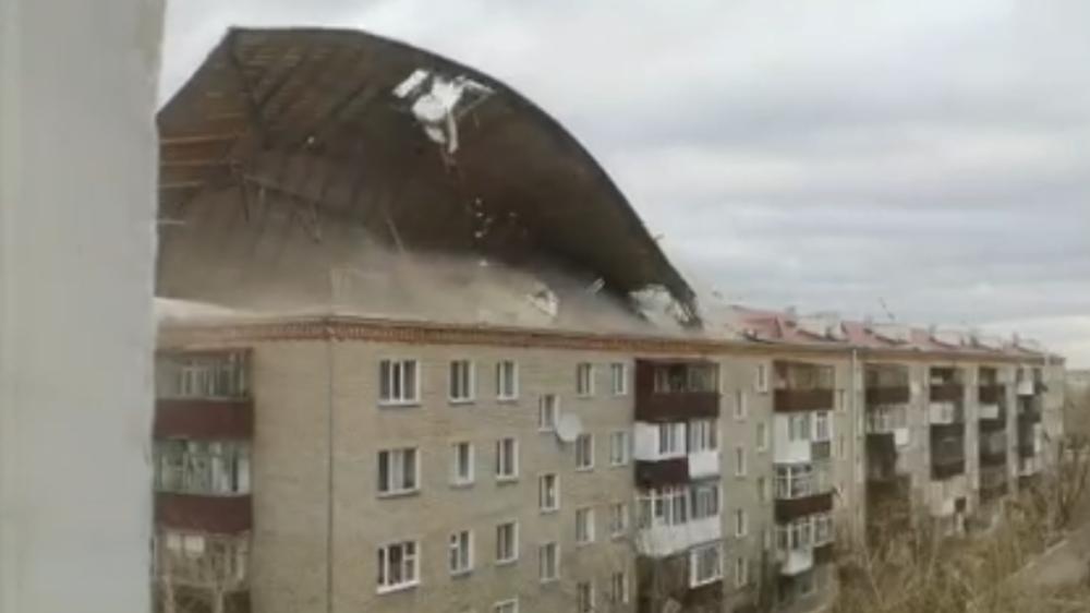 wichura zrywa dach