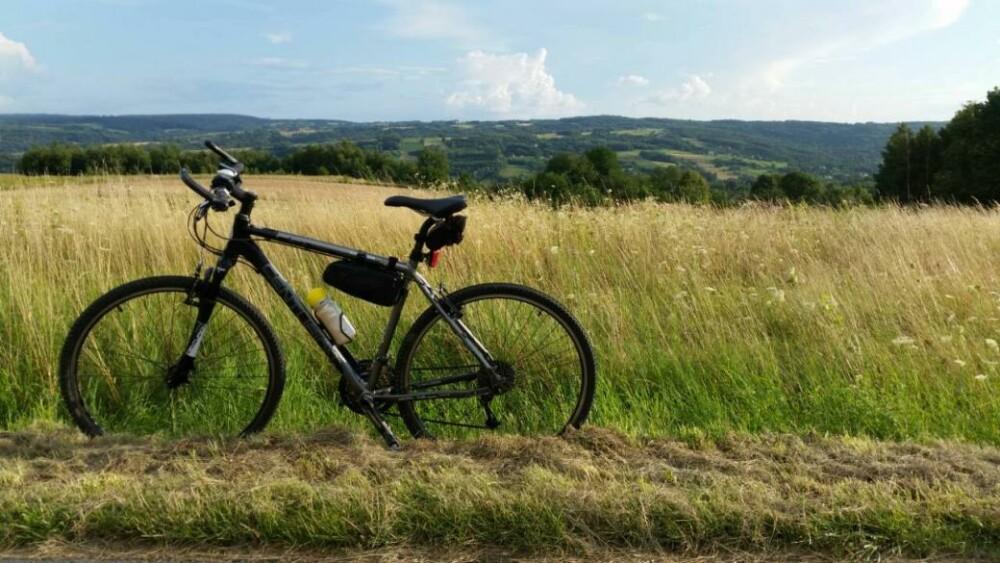 rowerem z belgii do polski