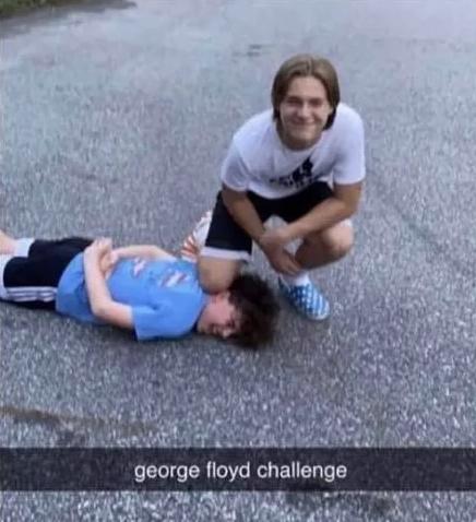 oburzające wyzwanie nastolatków