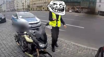 tak polska policja traktuje