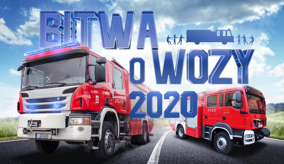 rząd rozda wozy strażackie