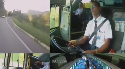 mistrzowska reakcja kierowcy