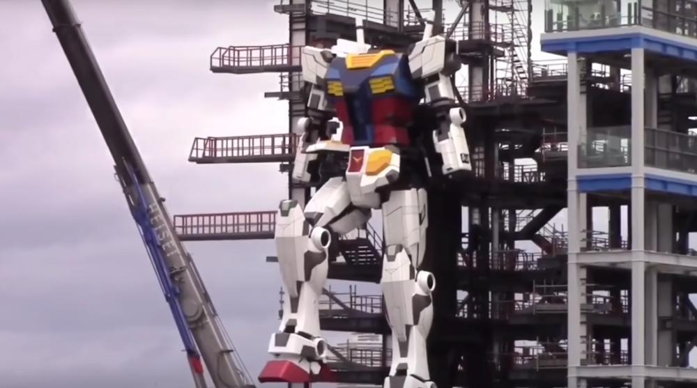 japonia buduje gigantycznego robota