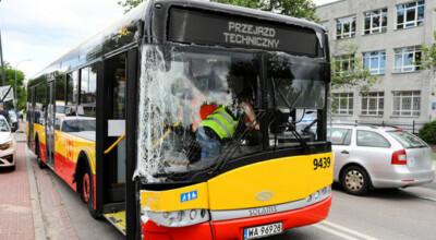 kolejny wypadek autobusu