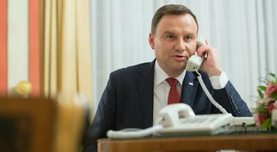 Andrzej Duda komentuje