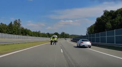 jak nie zabezpieczać wypadku na autostradzie