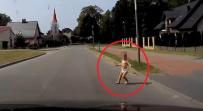 dziecko wybiegło