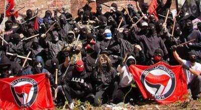 bojówkarze Antify