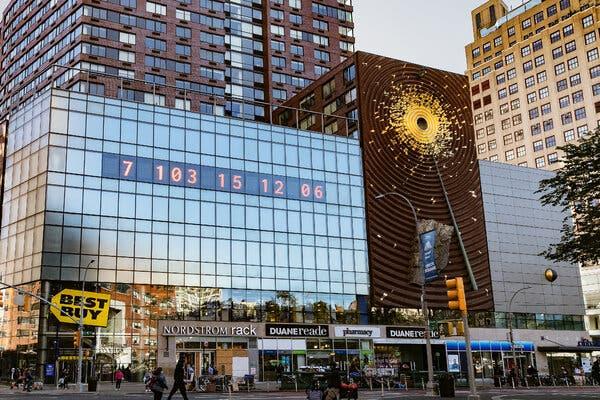 Zegar w Nowym Jorku