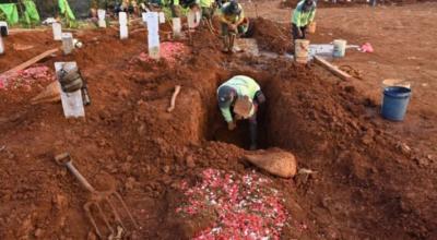 Kopanie grobów