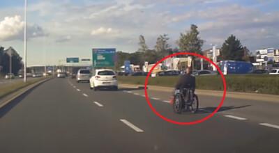 rakietowy wózek inwalidzki