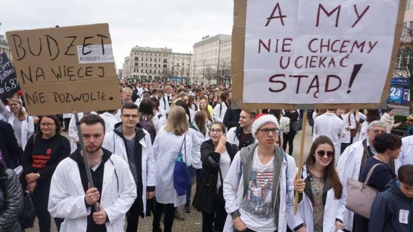 strajk lekarzy