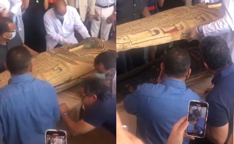 egipt niezwykłe odkrycie