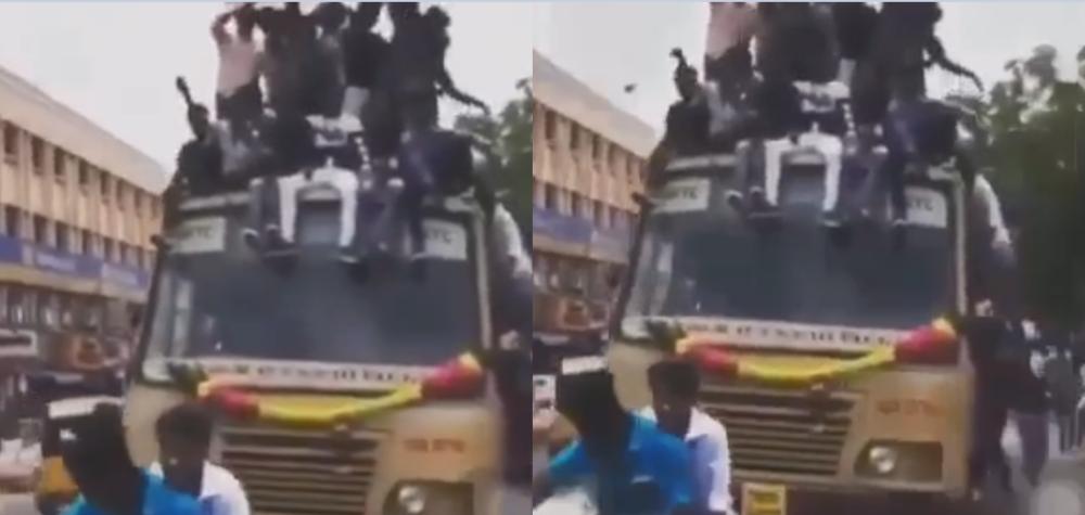 indyjski autobus pełen pasażerów