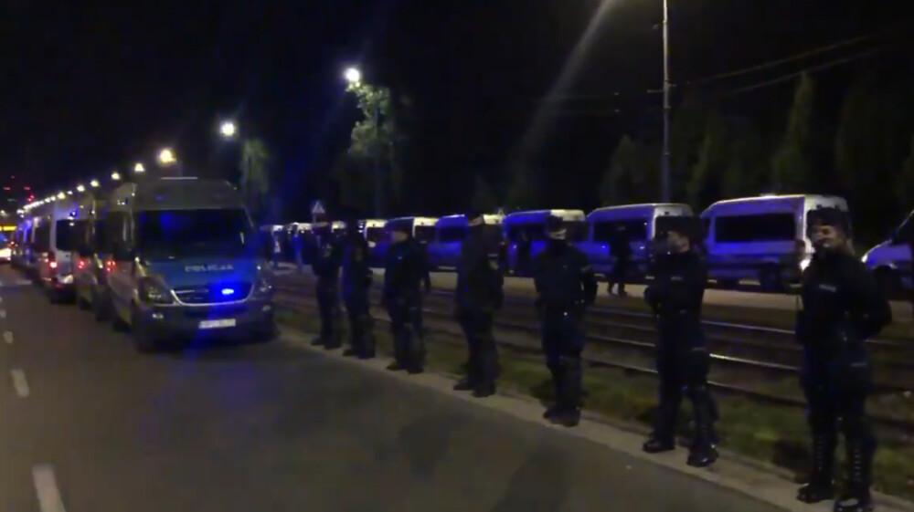 nocne strajki pod willą