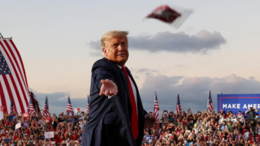 Wiec wyborczy Trumpa
