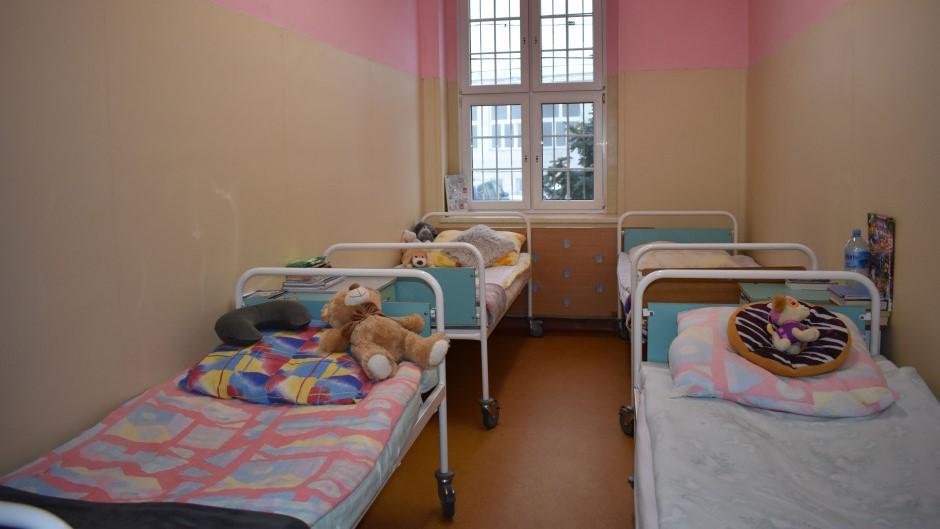 Dzieci z oddziału psychiatrycznego