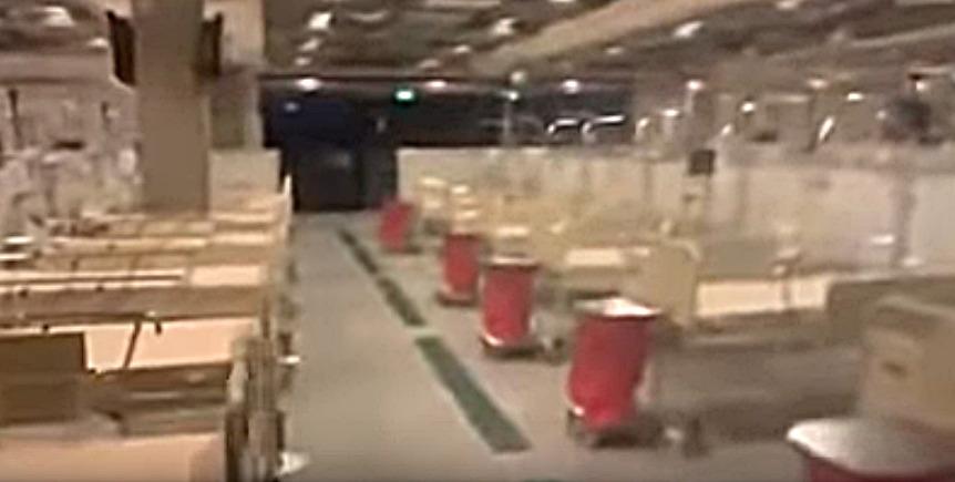 szokujące nagranie ze szpitala narodowego