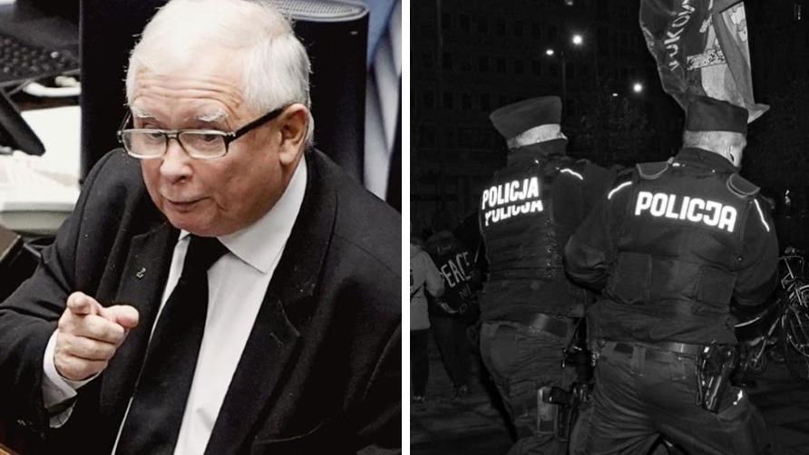 Jarosław Kaczyński został ewakuowany