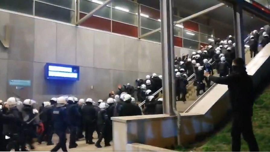Atak policji na dziennikarzy