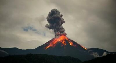 Wybuchy kolejnych wulkanów