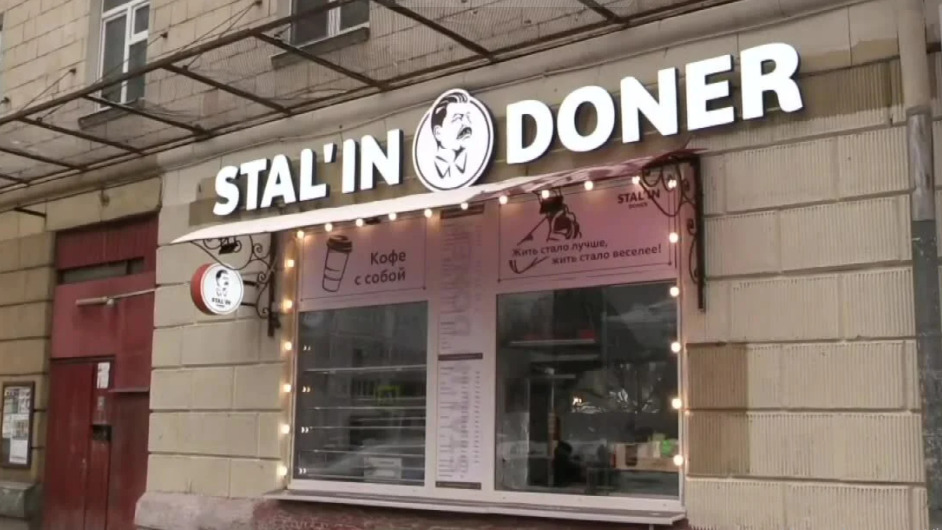 Kebab upamiętniający Józefa Stalina