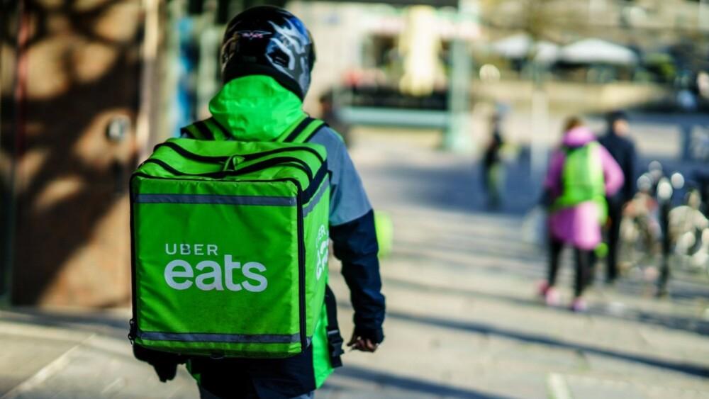 Uber Eats dostarczy